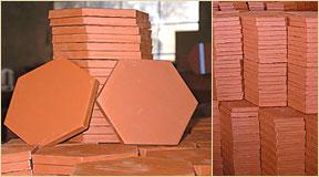 emphoux fabrication tomette rouge traditionnelle de salernes. Black Bedroom Furniture Sets. Home Design Ideas